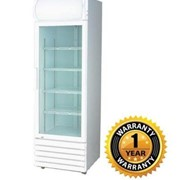 Upright Single Glass Door Fridge – LG-370GE