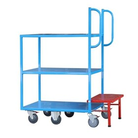 Sitequip Multi Deck Trolley with Step