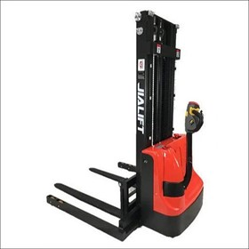 Fully Electric Stacker Straddle Leg 3500mm Lift Height