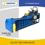 UK Enerpat Aluminum Profile Metal Baler | Metal Baling Machine
