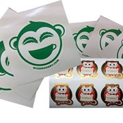 Custom Made Vinyl Stickers Manufacturer