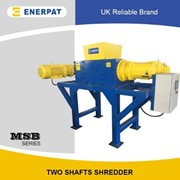 High Quality Two Shaft Shredder for Non Ferrous Scrap