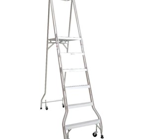 Monstar 6 Step Platform Ladder - 1.69m - Monstar