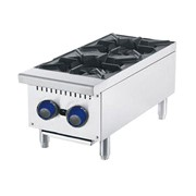 CookRite 2 Burner Cook Top