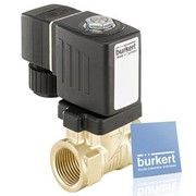 Servo-assisted 2/2 Way Solenoid Valve - Type 6213