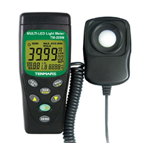 Multi function Light / Lux Meter | Tenmars TM-209M