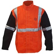 Top Gun Hi-Vis Welders Jacket Large TGACWJHVL