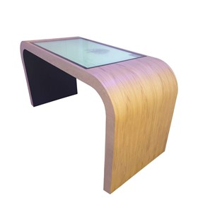 Planning Table Timber Curved