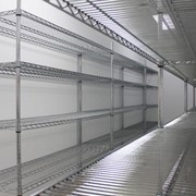 Sterimesh Chrome Wire Shelving