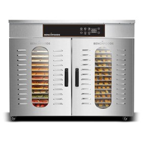 2 Zone - 32 Tray Commercial Food Dehydrator | 32H-CUD