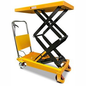 Mobile Double Scissor Lift Trolley | Castors & Industrial | SLM350