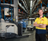 Disc Brakes Australia is using a range of Crown lift trucks including RR Series reach trucks, a CG Series LPG counterbalance forklift, Wave® Work Assist Vehicles® and WP Series power pallet trucks.