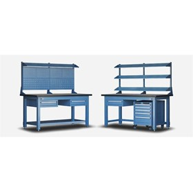 Storage Solutions and Workbenches