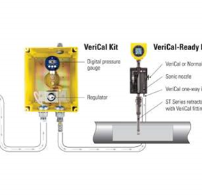 Air/Gas Flow Meter | FCI ST100  | VeriCal System