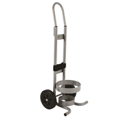 Medical Gas Cylinder Trolley | C/D Size - Steel