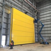 Large Roller Doors for Warehouses, Hangars, Shipyards and Mining Sites