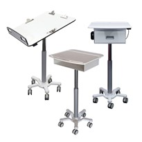 Adjustable Height Rounds Trolleys