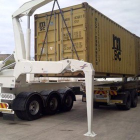 Dual Carriage Swinglift Side Loader (HIGHLIFT DOUBLE STACK)