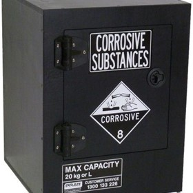 Store-Safe 20KG Benchtop Non-Metallic Corrosives Substance Cabinet