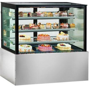 Norsk Standing Cake Cabinet/Display Fridge 900mm
