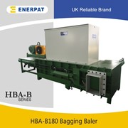 UK Enerpat Chopped Straw Bagging Press Baler Machine
