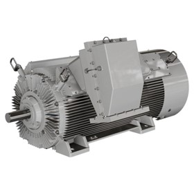 Medium / High Voltage Motors - Rib Cooled