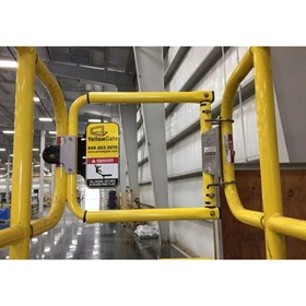 Industrial Safety Gates | Yellow Gate