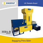 High Efficiency Bagging Press Baler Machine for Alfalfa | HBA-B60