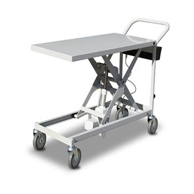250kg Battery Powered Scissor Lift Trolley | SLB250