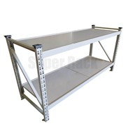Heavy Duty Steel Work Bench -  2Mx 0.85M 800KG