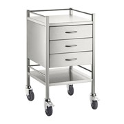 Rounds Trolley S/S 3 Draw 50x50x90CM