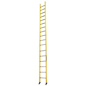 Fibreglass Single Ladder 18ft 5.5m | PowerMaster