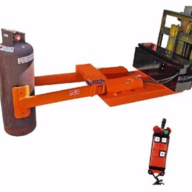 Gas Cylinder Forklift Grab Clamp Attachment