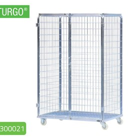 STURGO Security Double Roll Cage Laundry Trolley | 18300021