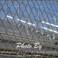 Stainless Chain Link Wire Fencing
