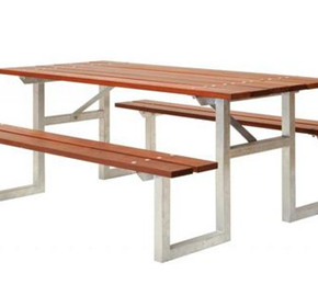 Picnic Table & Bench Set