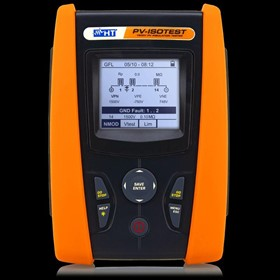 PV-ISOTEST 1,500V Photovoltaic Safety Tester