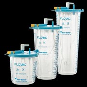 FLOVAC Suction Canisters for Portable Suction Pumps | Disposable 1L