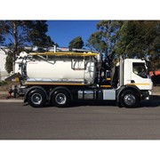 Vacuum Truck | Cap Combi 2600 CC Hydro Excavation Unit 6×4