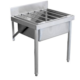Master Flow Stainless Steel Mop Sink