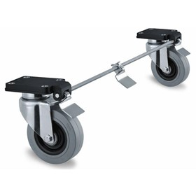 Swivel Castors With Central Total Lock