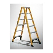 Double Sided Step Fibreglass Ladder 150kg Industrial 2.4m (8ft) 15.1kg
