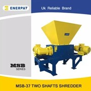 Universal High Efficiency Aluminum Extrusion Two Shaft Shredder