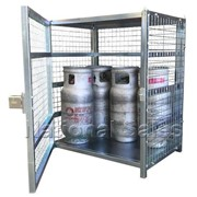 12 x 9kg LPG Bottle Storage Cage