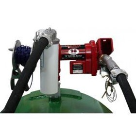 24V Aviation Fuel Transfer Drum Pump Kit