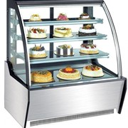 Norsk Standing Curved Cake Display Cabinet/ Fridge 1500mm