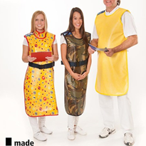 Light Front Lead Aprons