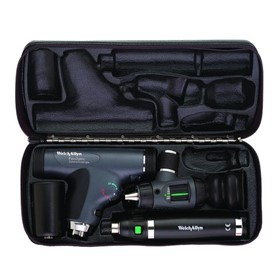3.5 V Portable Diagnostic Set with LED PanOptic Ophthalmoscope, MacroV