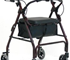 "Walking Aids - 6"" Height Adjustable Seat Walker"