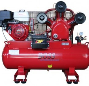 Petrol Air Compressors | Boss Compressors | Industrial Compressors